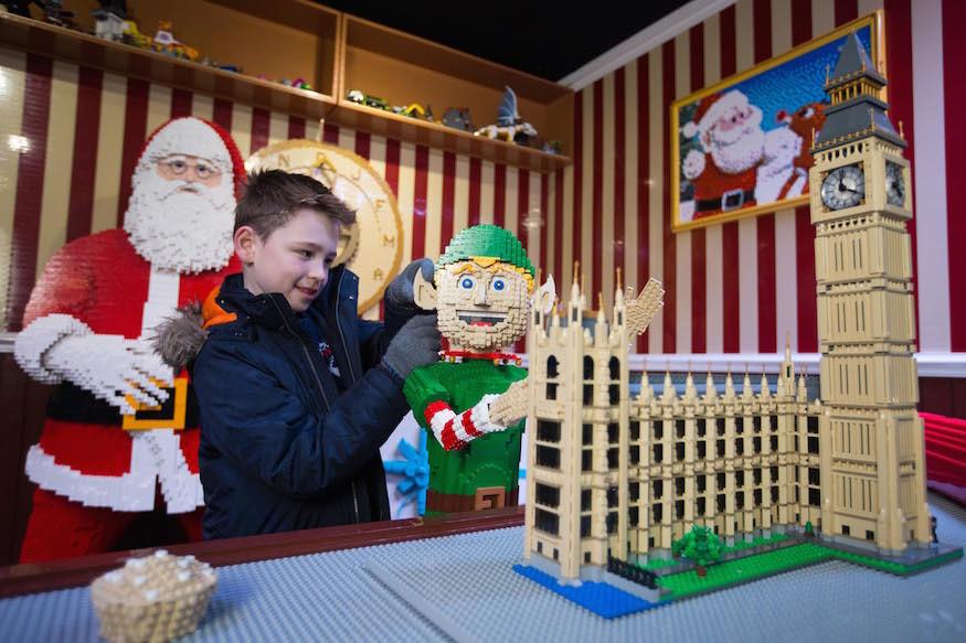 See Santa's Workshop Made From 700,000 Lego Bricks