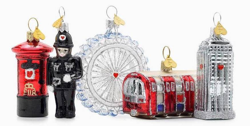 these are the best london christmas decorations around this year londonist - Glass Christmas Decorations