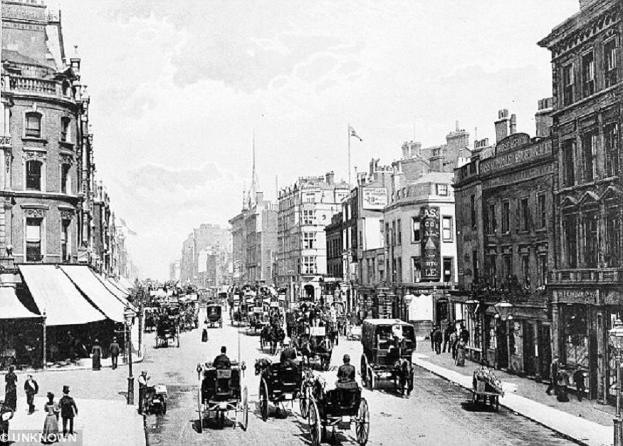 What was Oxford Circus called first?