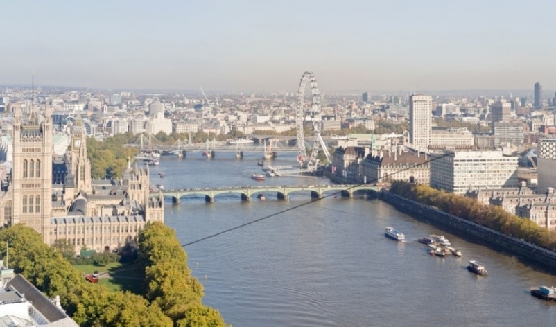 Cross The Thames On A Zip Wire This December