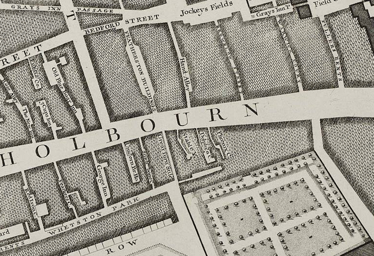 Five old maps of London to explore online