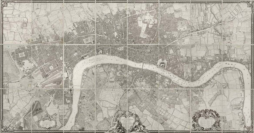 London 1600 Map.The Best Old Maps Of London Londonist
