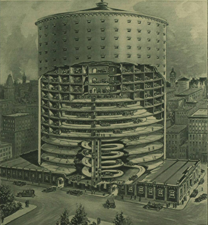 London Could Have Had Tallest Car Park
