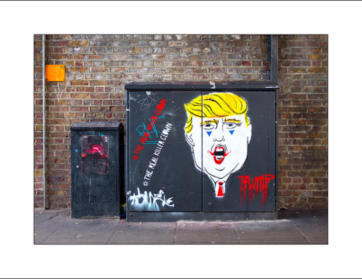Donald Trump: the best street art from London