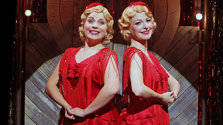 Together forever: Daisy (Louise Dearman) and Violet (Laura Pitt-Pulford)