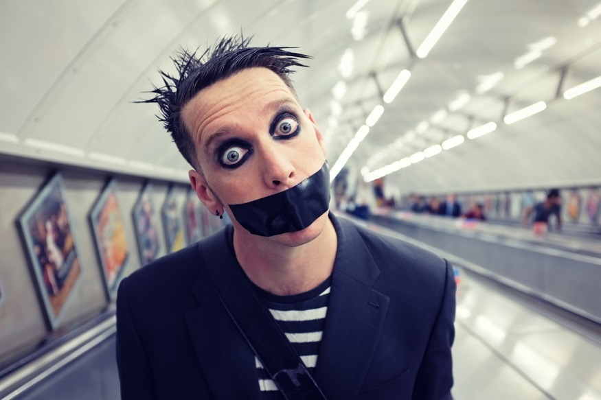 Is @tapefaceboy the new Charlie Chaplin? Decide for yourself - he's heading to London and you should book it fast
