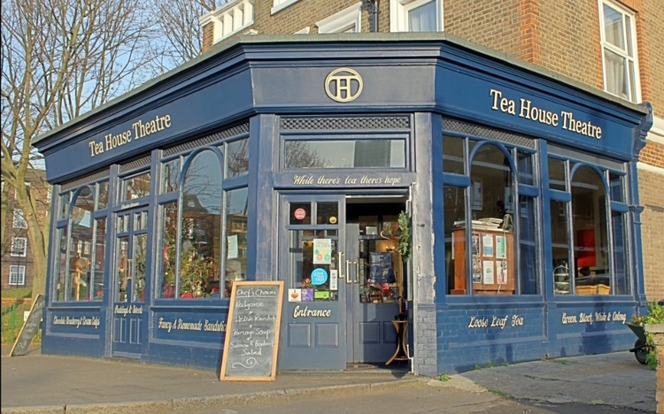 Tea House Theatre tea bar: best places to drink tea in London