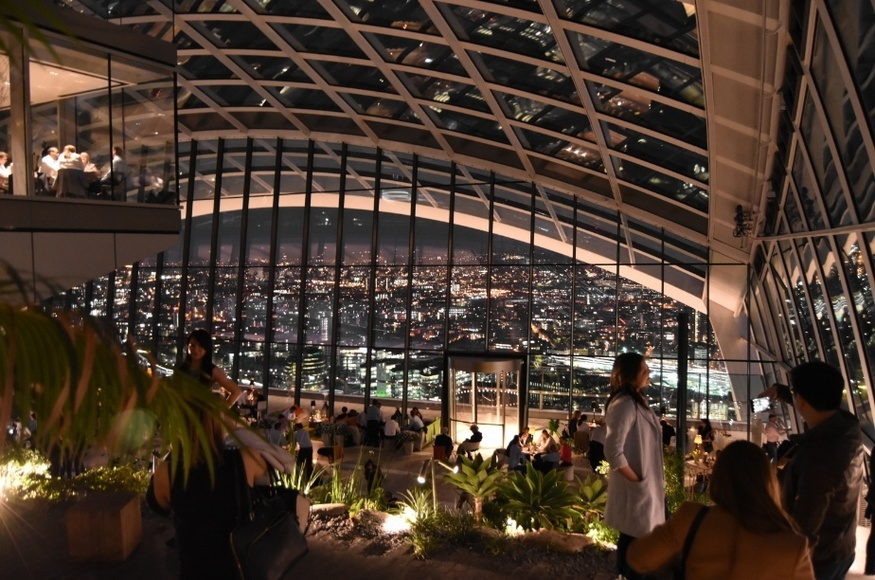 5 Things You Might Not Have Done In The Sky Garden