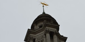 Why Is There A Giant Grasshopper On The Royal Exchange?