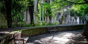 Discover This Secret Garden In A Bombed Out Church