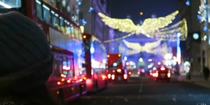 Video: Central London's Christmas Lights