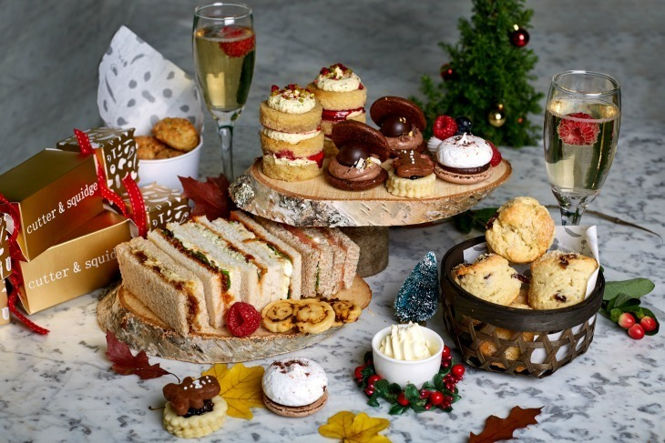 London's Top Christmas Afternoon Teas