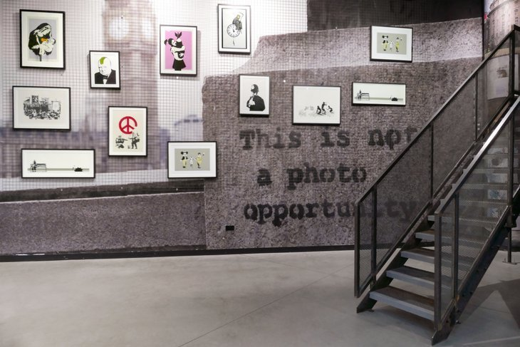 Street Artists Extraordinaire Banksy Has A New Gallery Of His Works