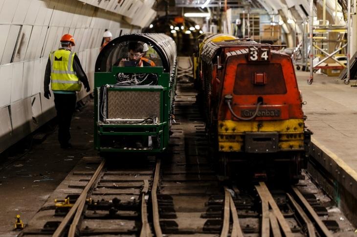 A Sneak Peek Inside The New Mail Rail