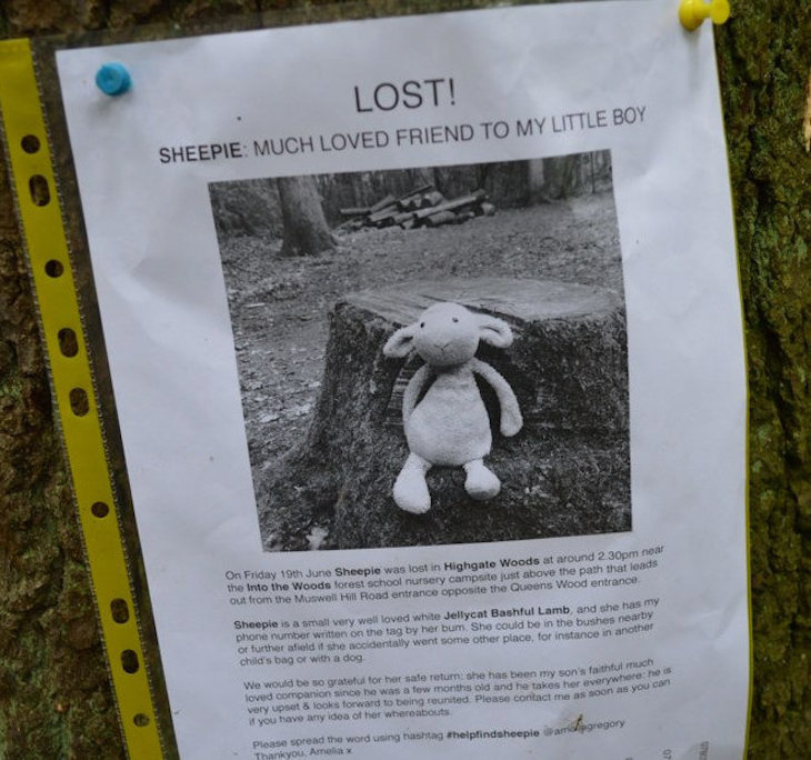 The Lost/Found poster is something of an art form