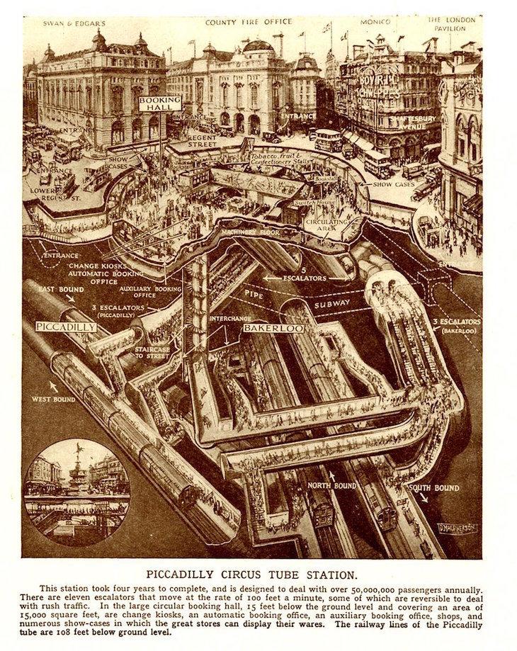 Londons Hidden Tunnels Revealed In Amazing Cutaways  Londonist
