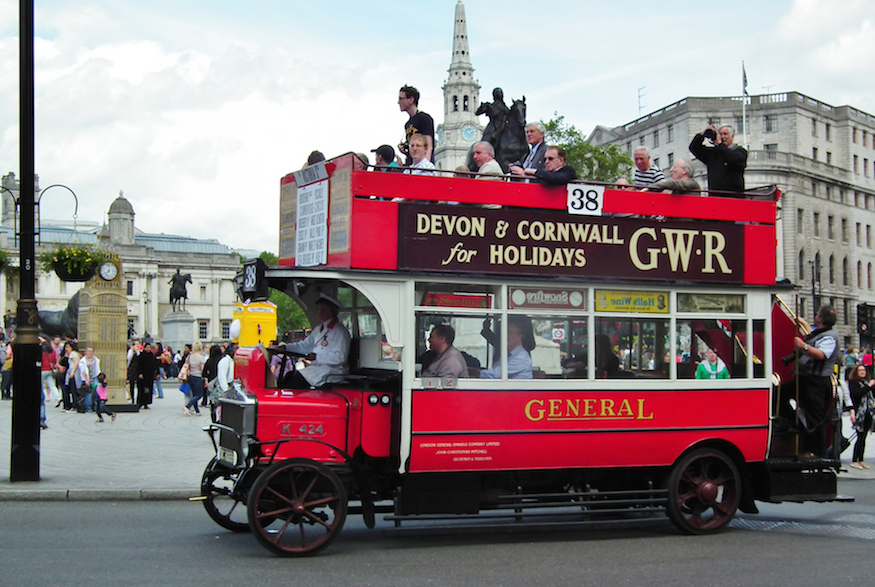 A Short History Of London's Pirate Buses