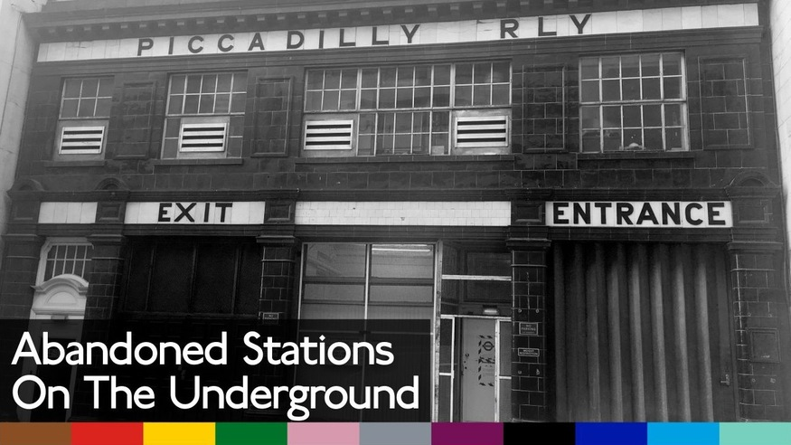 Video: a walking tour of London's lost tube stations