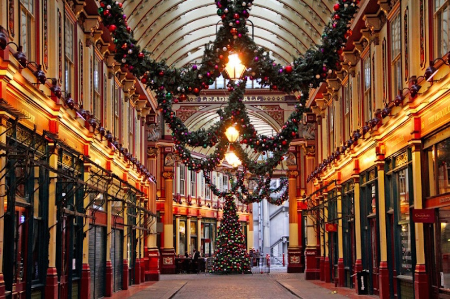 A Guide To Spending Christmas Day In London