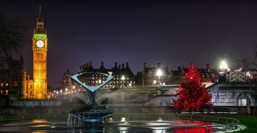 Someone's Made A Beautiful Timelapse Video Of London's Christmas Lights