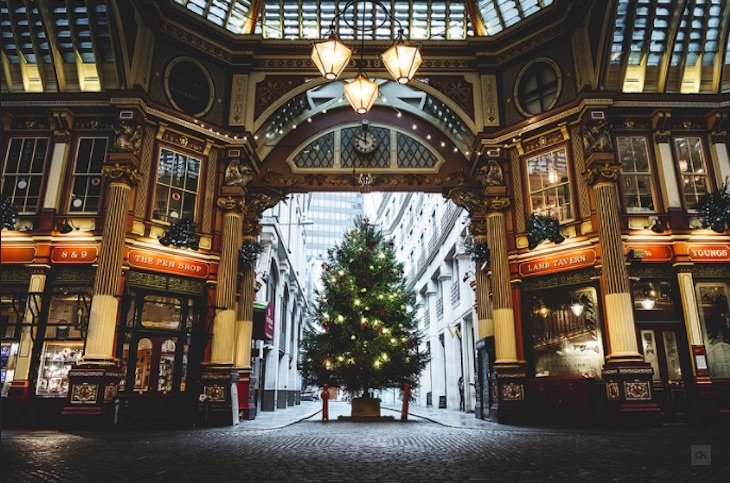 Christmas Trees: London's Finest
