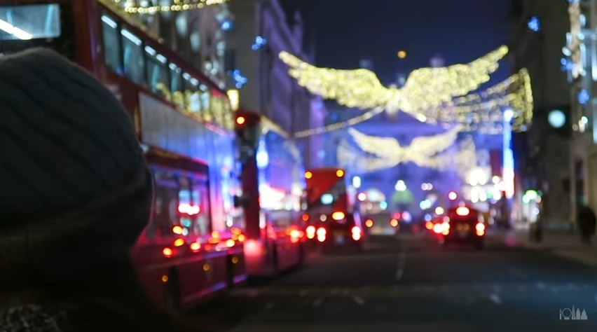 Video: London Lit Up In Festive Lights