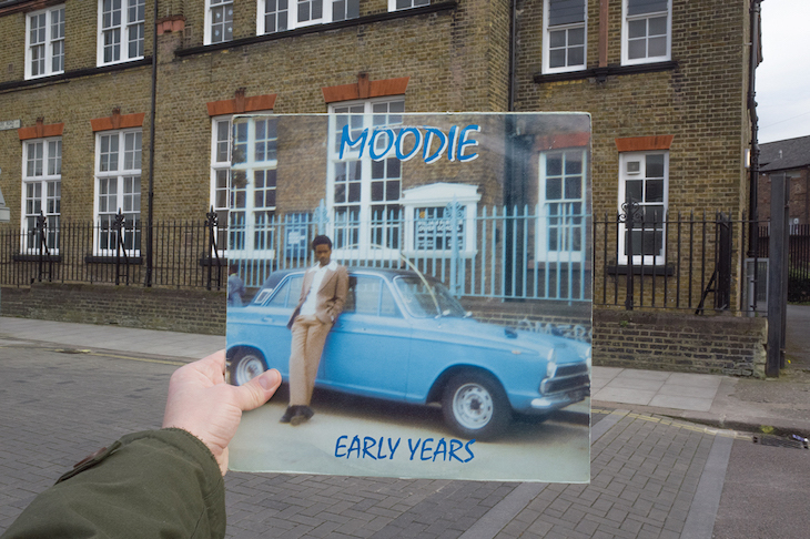 Old Reggae Album Covers That Blend Into Modern Day London