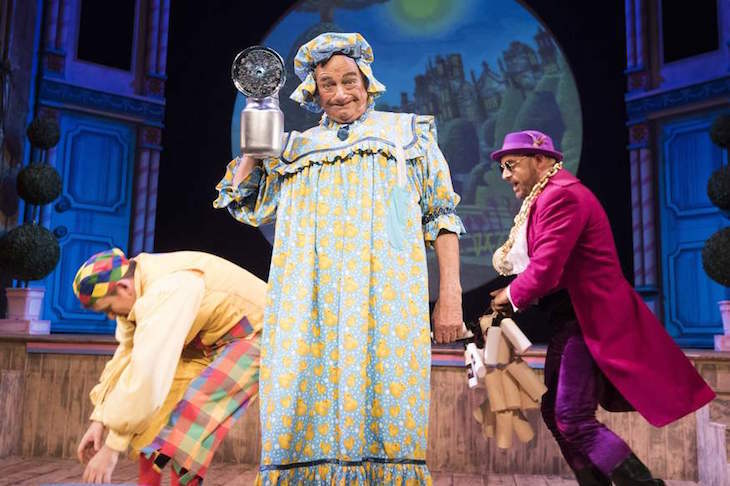 Mother Goose Is Classic Music Hall Panto
