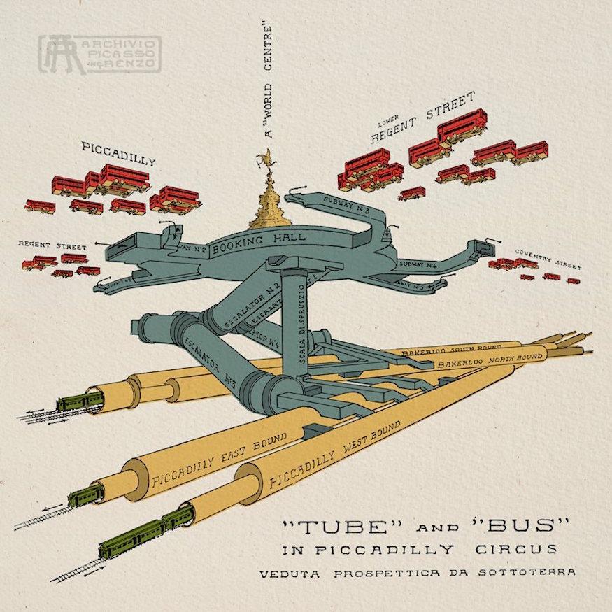 London's Hidden Tunnels Revealed In Amazing Cutaways