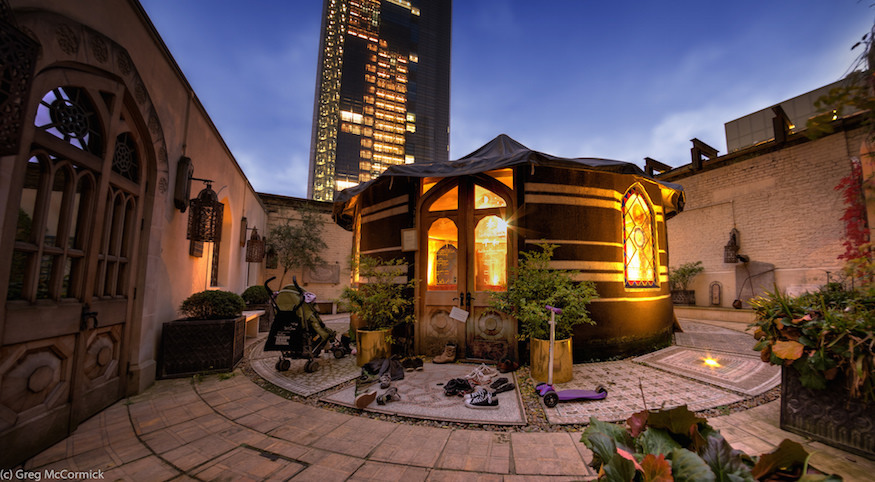London's secret bedouin tent