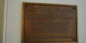See The Spot Where Sherlock Holmes First Met Dr Watson