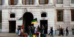 London In 1989