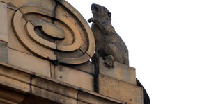 Why Are There Statues of Beavers On Top Of This Oxford Street Shop?