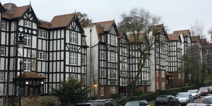 London's Mock Tudor Social Housing Estate