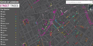 An Amazingly Detailed Map Of London's Trees