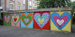 North London Housing Estate Covered In Street Art