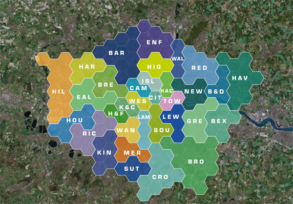 The Crazy Victorian Plan To Hexagonalise London | Londonist