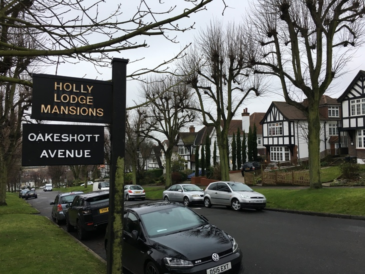 The mock Tudor social housing estate