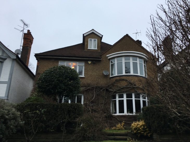 London's Mock Tudor Social Housing Estate