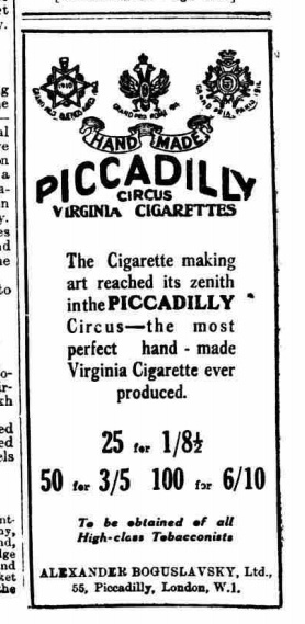 Ordering cigarettes online in Bristol
