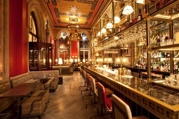 Dine Like Royalty In London's Most Jaw Dropping Dining Rooms