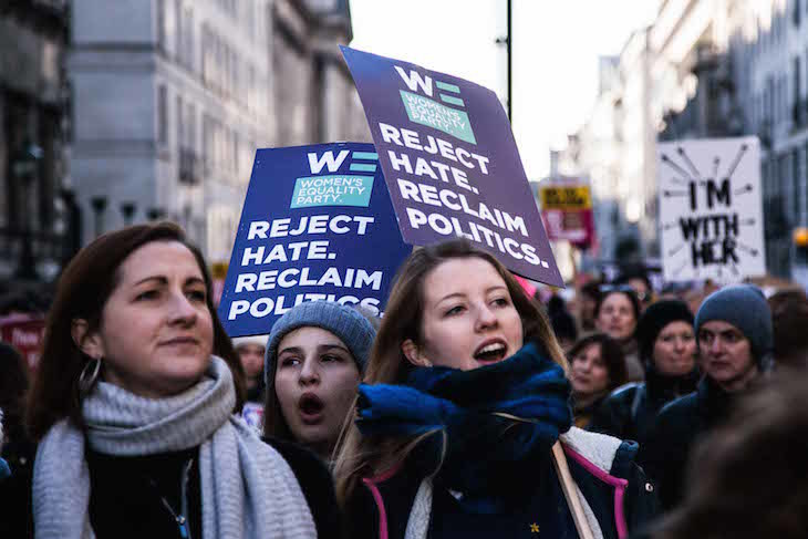 In Pictures: The Women's March On London