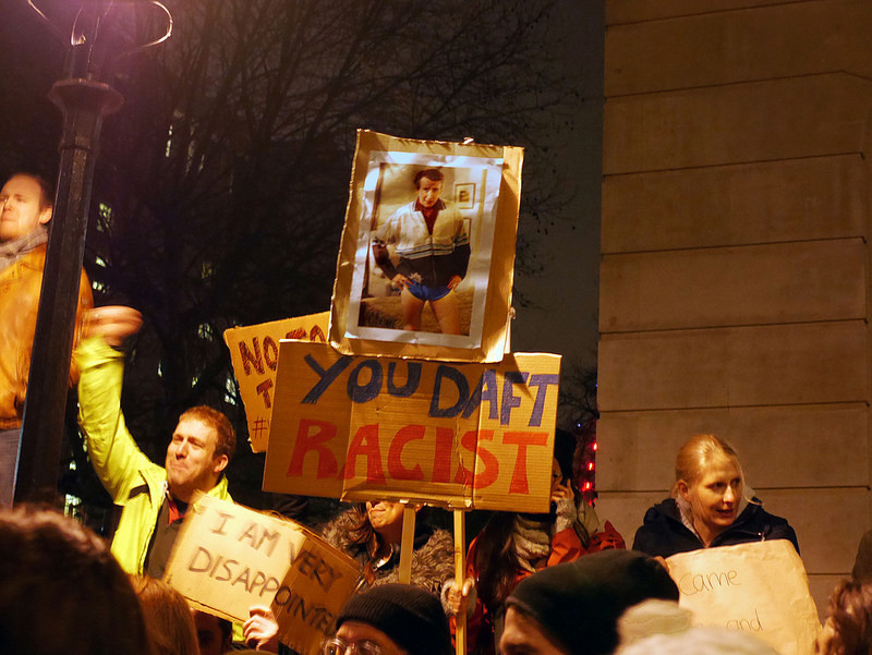 London's Anti-Muslim Ban Protest In Photos
