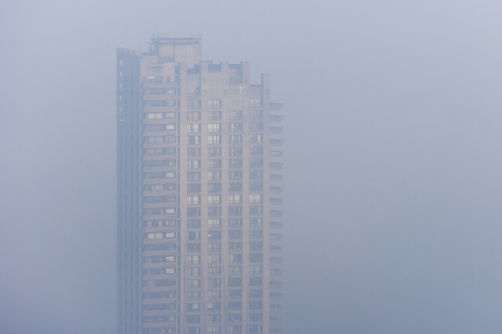 Some amazing shots of London in the fog