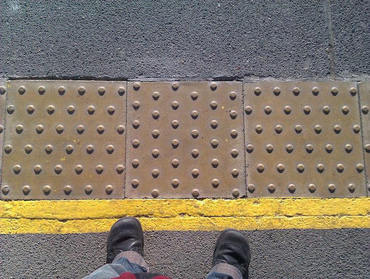 Ever noticed? Tactile paving has different patterns for different situations