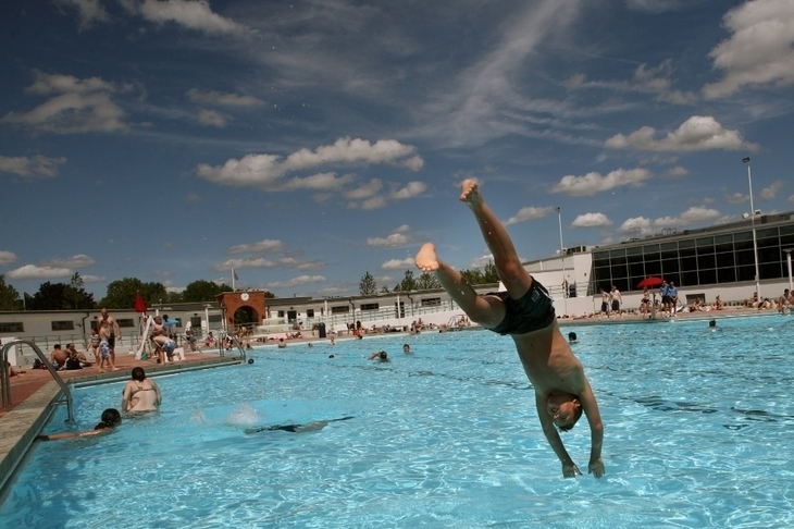 Take a dip at Uxbridge/Hillingdon Lido in London