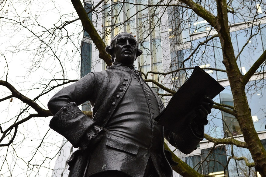 What's So Unusual About this London Statue?