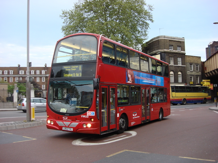 London's First Bus Route
