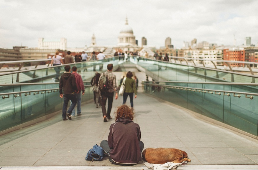 What's It Like To Be Homeless In London?