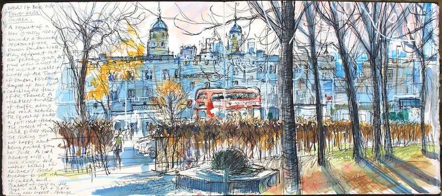 London's Parks Look Beautiful In These Sketches